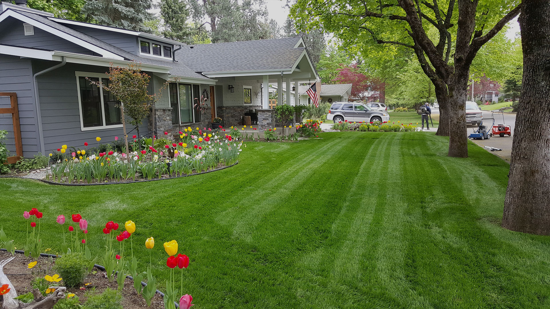 LakeView Lawncare & Landscape Co. Landscaping, Yard Maintenance and Sprinkler Repairs slide 5
